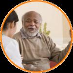Senior Home Care in-home consultation.