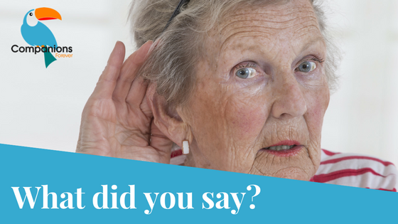Hearing Loss in Seniors tips YourSeniorCareService.com
